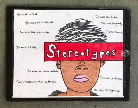 'Stereotypes' - Mixed Media on Plywood